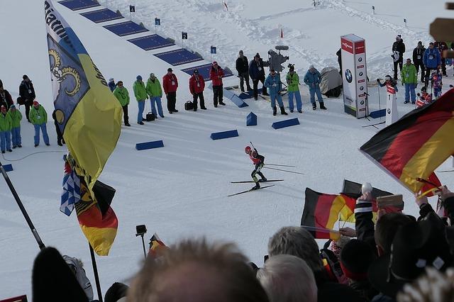compétition de biathlon